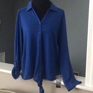 Style & Co Blouse v-neck